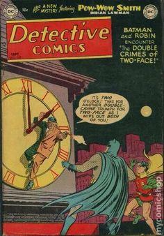 Two Faces, Pow Wow, Bob Kane, Tv Detectives, Public Service Announcement, Dc Comics Art, Batman Robin, Crime, Mystery