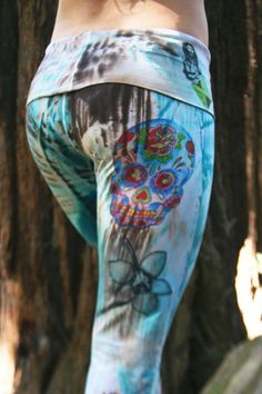 DESIGN YOUR OWN YOGA PANTS Yes, its true, and its very simple. 1st- Select your Image theme or Give us 2-3 themes for the art on your pants.
