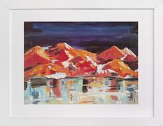 Midnight Mountains by Holly Royval at minted.com