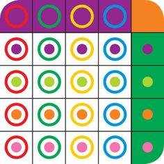 Enhance your child's visual perception skills with this fun matrix completing game. Therapy Activities, Math Activities, Therapy Ideas, Visual Perceptual Activities, Vision Therapy, Visual Memory, Pediatric Ot, Occupational Therapy, Games For Kids