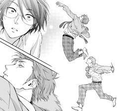 Kabakura Tarou x Hanako Koyanagi / Wotaku ni Koi wa Muzukashii Otaku Anime, Manga Anime, Anime Art, Manga Couple, Anime Couples Manga, Real Anime, Anime Love, Manga Story, Manga Covers