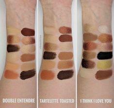 Colourpop double entendre vs tartelette toasted