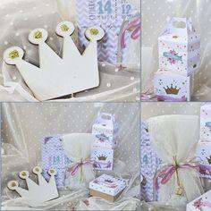 πακέτο #βάπτισης με θέμα την #κορόνα #προσκλητήριο , #μπομπονιέρα #κουτί #γλυκού@ 4LOVEgr we #love #celebrations #invitations - Always #happy to #work with #flowers and #decoration and give unic #style to #weddings #baptisms #christening #party #birtdays and every #event - Concept Stylist #Μάνθα_Μάντζιου & Floral Artist #Ντίνος_Μαβίδης