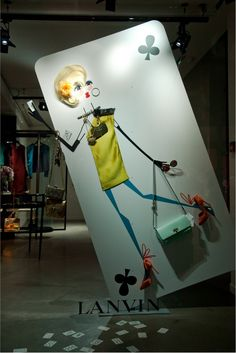 Lanvin, Paris, May 2013 #window_display #Design