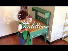 Монтессори Среда: Nido (малыши от 2 до 18 месяцев) и Toddlers (от 18 месяцев до 3 лет) - YouTube
