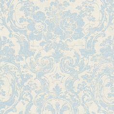 2,95€//1qm Vliestapete Scandinavian Vintage Marburg 51652 blau