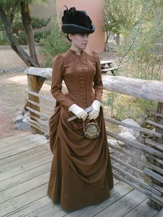 1880's Wool Dress, photos by Lisa Coffey. Pouf! A new dress! I haven't posted anything about the progress of this new dress becaus...