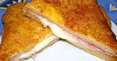 Mennyei Sajtos, szalámis bundás kenyér recept! Hogy ne legyen egyhangú mindig ugyanúgy enni a bundás kenyeret, és így készítve imádja az egész család, főleg hogy a sajt nyúlik benne. A kenyeret nyugodtan csinálhatjuk rendes kenyérrel is.