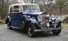 Martin Walter Rolls-Royce 25/30 HP 4-door Convertible 1936 (Chassis #GRM48)