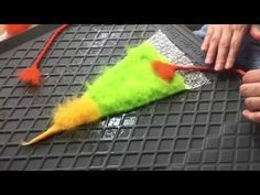 Grundtechniken und Basiswissen ▶ Filzen (Nadelfilz, Nassfilzen) [Grundkurs] - YouTube