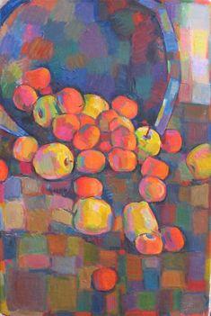 Mandarinen und Äpfel 1 - 2008 - Öl