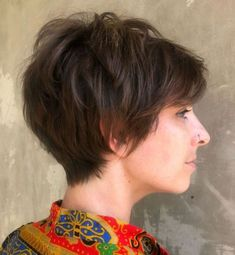 Shaggy Pixie Cut For Thin Hair # short hair styles pixie fine 100 Mind-Blowing Short Hairstyles for Fine Hair Short Shag Hairstyles, Short Layered Haircuts, Bob Hairstyles For Fine Hair, Haircuts For Fine Hair, Men's Hairstyle, Wedding Hairstyles, Formal Hairstyles, Pixie Haircuts, Medium Hairstyles