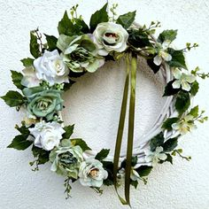 Summer Wreath, Floral Wreath, Romance, Wreaths, Green, Decor, Romance Film, Floral Crown, Romances