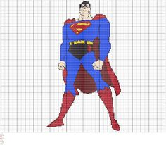 Crochet Superman Colorwork Chart, Crochet Colorwork Graph Pattern, Instant Digital Download Files  Fiber Art Designs for Crochet, Knitting, and Embroidery Patterns  Embellish a lapghan, wall art, blankets with Superman. This design is worked across 200 stitches & 200 rows. This design is perfect for Cleveland Bear fans. You will receive 4 PDF files, and 1 SVG each can be easily printed or enlarged for easy viewing on your laptop, tablet, or phone.  The files are all the same design just in…