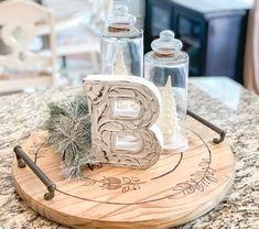 DIY Advent Calendar - On-Trend DIY Workshops - The Home Depot Home Depot, Holiday Crafts, Christmas Crafts, Homemade Christmas, Christmas 2019, Holiday Decor, Christmas Hanging Baskets, Diy Lazy Susan, Wood Crafts