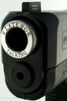 Glock custom engraving
