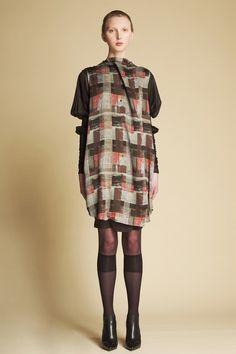 Patch Steel Shirt Dress/ Medieval Sleeve Layering Dress