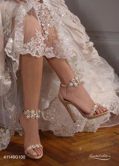 Sapatos de noiva e cerimônia de Penrose. www.penrose.it #Shoeshighheels
