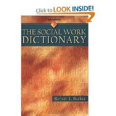 The Social Work Dictionary