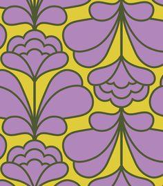 ORLA KIELY - DAMASK FLOWER PRINT SS16