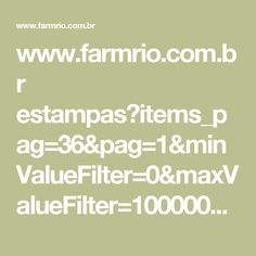 www.farmrio.com.br estampas?items_pag=36&pag=1&minValueFilter=0&maxValueFilter=1000000000&tamanhocalca=0,0,0,0,0,0&tamanhocamisa=0,0,0,0,0,0&cat=&isScroll=false&sliderPosition=135
