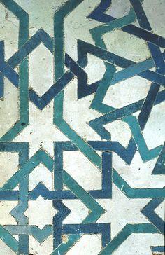 Alhambra pattern. Islamic geometric pattern