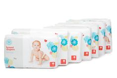 Honest Diapers - Natural Diapers - The Honest Company ($13.95/ 40 pack, would need to calculate if works and bundle better)