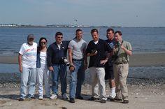 Jokesters at Howard Beach in 2003.