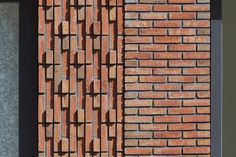 VKG nominatie: Blok 6 in Groningen door De Zwarte Hond - De Architect Z Brick, Brick Masonry, Brick Facade, Brick And Stone, Facade House, Brick Wall, Brick Design, Facade Design, Brick Architecture