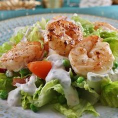 "Warm Shrimp Salad | ""AHHHMAZING! I'm not really a salad kind of person but this was worth every ounce of effort."""