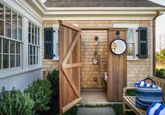 13 Outdoor Bathrooms That Define Summer Living, Laurel & Wolf,
