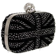 Brittania Crystal Box Clutch ($1,975) ❤ liked on Polyvore