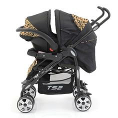 The Babystyle TS2 Travel System in Leopard is designed with ultimate practicality, versatility and comfort in mind. The group 0+ (0 to 13kg) car seat fits directly from the car to the pushchair with an easy one-click fit and the highly manoeuvrable smooth ride swivel wheels allow strolling or shopping with minimum effort.
