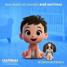 Cegonhas: Criador de Bebês | CEGONHAS, somente nos cinemas