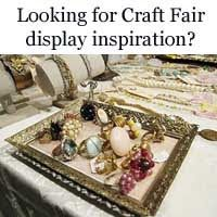 Lots of craft fair jewelry display inspiration