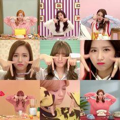 Twice TT: Daehyun, Tzuyu, Chaeyoung, Mina, Jihyo, Sana, Momo, Jungyeon, Nayeon