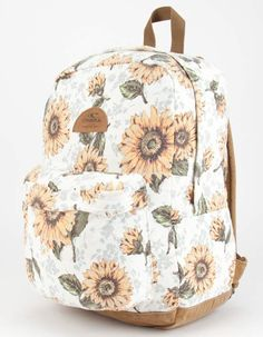 carousel for product 300667167 White Backpack, Mini Backpack, Cute Backpacks, School Backpacks, Cactus Backpack, Laptop Pouch, Western Purses, Sunflower Print, Carousel