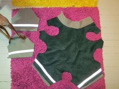 #2 dog coat w/ legs