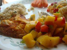 Tasty Crafts: Cajun Tilapia with Mango Salsa