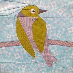 Silvereye 12 inch Paper Pieced Pattern pattern on Craftsy.com