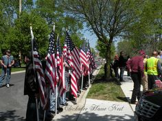 Military funeral, Patriot Guard Riders