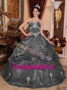beautiul gray quince dress