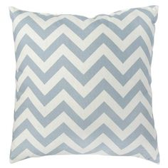 Greendale Home Fashions Toss Zig Zag Pillows in Village Blue (Set of 2). These would go great in my living room!