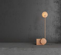 A Table Lamp by Nottdesign That You Interact with to Turn It On #design #wellmade