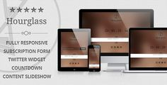 Hourglass - Responsive Coming Soon Page