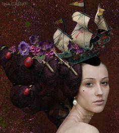 Rococo Inspired ~ Tina Cassati #rococco return