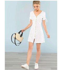 Simple Dresses, Pretty Dresses, Casual Dresses, Short Dresses, Fashion Dresses, White Summer Dresses, Teen Dresses, Bride Dresses, Elegant Dresses