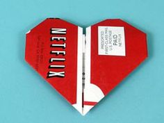 NetFlix Origami - this site offers fun origami tutorials using the part of the Netflix envelope you tear off when you receive a new DVD.