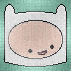 Adventure Time Finn Cross Stitch