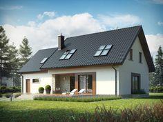 Projekt domu AC Marcin G2 - DOM AF7-14 - gotowy projekt domu
